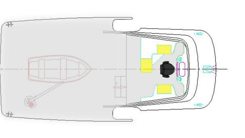 Layout: Boat Deck and Flybridge